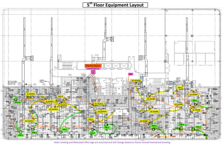 Floor Equipment Layout